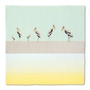 Bird parade | Tiles