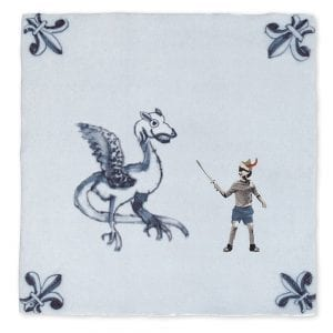 The dragon warrior | Tiles