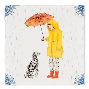 It's raining dogs | Tiles